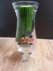 Mmm, komkommer in water ;)